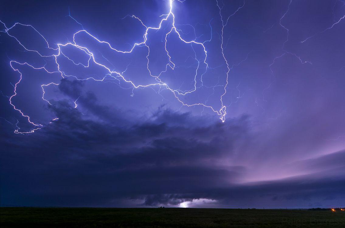 Фото бесплатно Kansas, молния, шторм - на рабочий стол