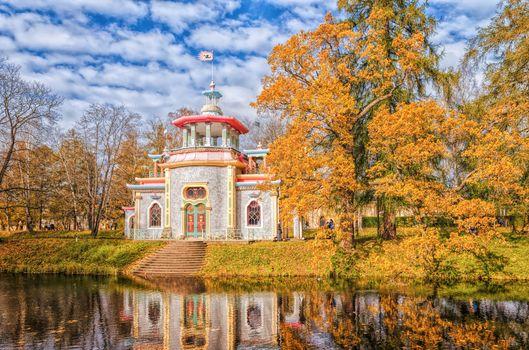 Китайский летний дом в Екатерининском па