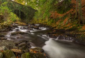 Photo free Rydal Hall, Grotto waterfall, landscape
