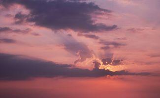 Заставки Закат, Природа, Небо