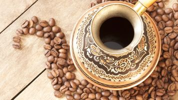 Фото бесплатно зерна, кофе, чашки, Мокка, блюдце