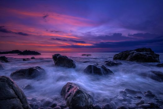 Photo free Sukabumi, Indonesia sunset, sky