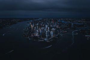 Заставки Нью-Йорк, мир, город