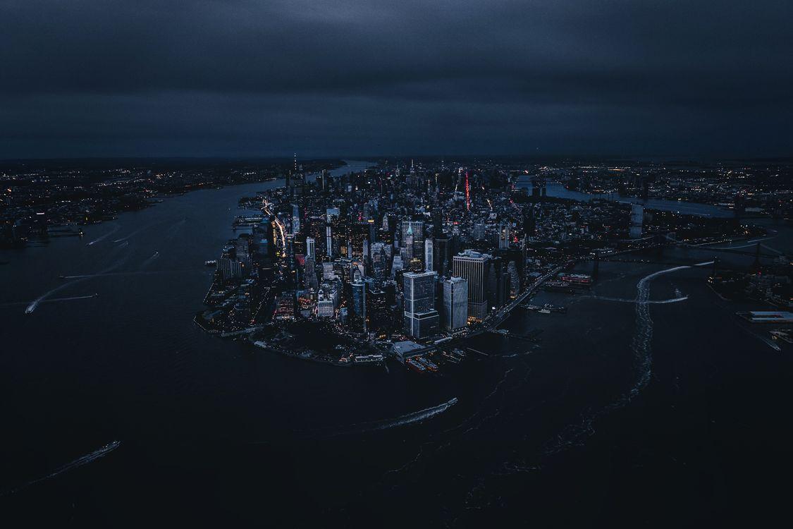 Фото бесплатно Нью-Йорк, мир, город - на рабочий стол