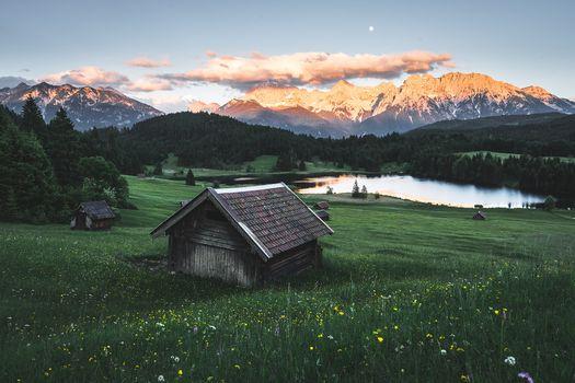 Фото бесплатно Южный Тироль, Бавария, Альпы