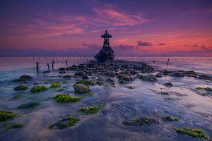Фото бесплатно Восход солнца, Pura Sekar Angkuh, Нуса Пенида