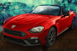 Photo free 24 spider, 124 Spider Abarth, Abarth