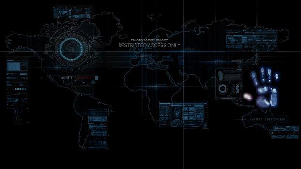 Фото бесплатно компьютер, цифровой, карта