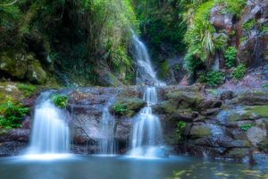 Фото бесплатно Elabana Falls, Lamington National Park, Queensland