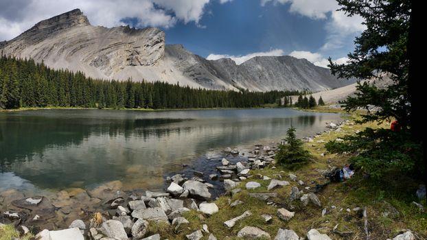 Фото бесплатно First Picklejar Lake, East Kootenay, British Columbia