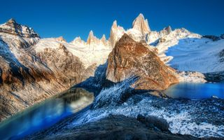 Фото бесплатно горы, разрешение, лес