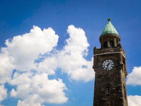 Фото бесплатно Гамбург, Эльба, башенные часы