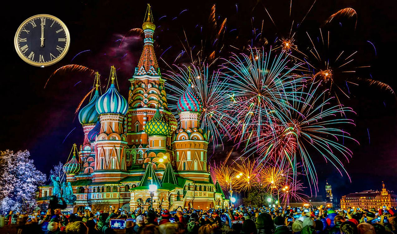 Фото бесплатно Москва Красная площадь, Новый год, Россия - на рабочий стол