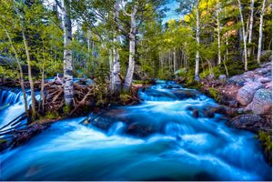 Photo free river current, Colorado, Rocky Mountain National Park