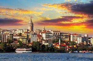 Фото бесплатно небо, Стамбул, здания