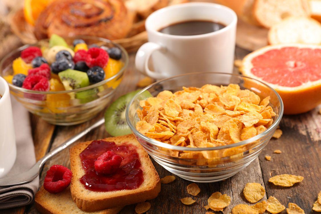 Фото бесплатно крупы, завтрак, кофе - на рабочий стол