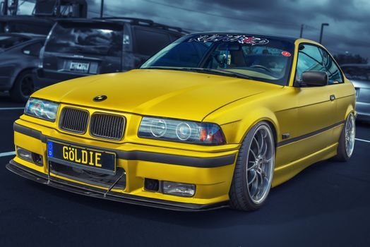 Фото бесплатно auto, Fotografie auto, Portretul pentru autovehicule, Bavarian Motor Works, Bayerische Motoren Werke AG, Bimmer, BMW, BMW E36, BMW E36 Coupe, BMW m3, BMW M3 E36, BMW M3 E36 Goldie