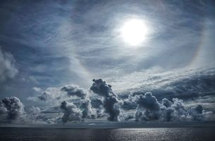 Photo free sea, sky, clouds