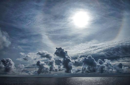 Заставки море,небо,облака,горизонт,природа,пейзаж