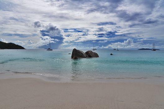 Фото бесплатно Сейшельские острова море, пляж, берег