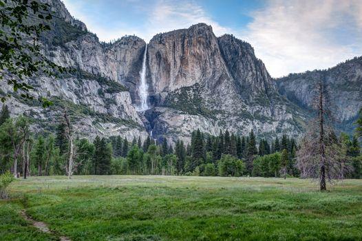 Фото бесплатно Йосемитский водопад, Йосемитская долина, Йосемитский национальный парк США