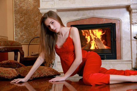 Заставки сексуальная девушка, молодая, Elle Tan