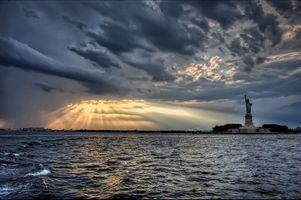 Фото бесплатно Статуя Свободы, Нью-Йорк, США