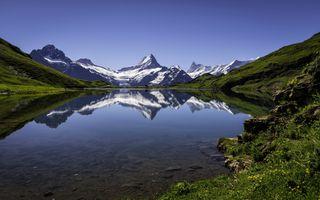 Фото бесплатно разрешение, обои, озеро