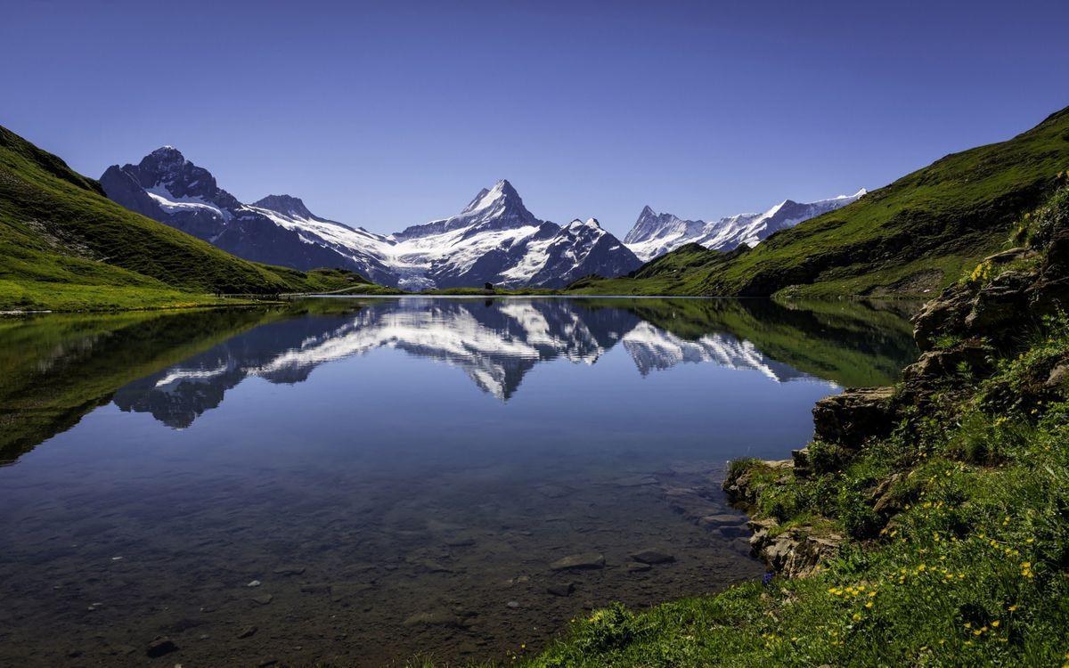 Фото бесплатно разрешение, обои, озеро - на рабочий стол