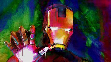 Фото бесплатно Iron Man, художественное произведение, Artist