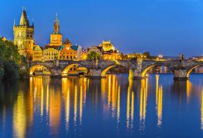 Бесплатные фото Charles bridge,Прага,Чехия,Река Влтава