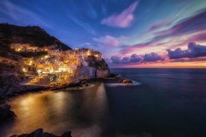 Фото бесплатно море, город, пейзаж