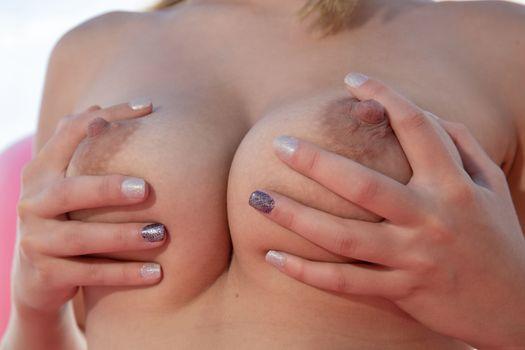 Бесплатные фото Агата,голые,крупным планом,сиськи,большие сиськи,соски,стояночный,ультра привет-Q