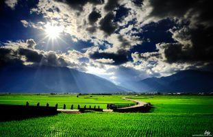 Фото бесплатно разрешение, туман, горы