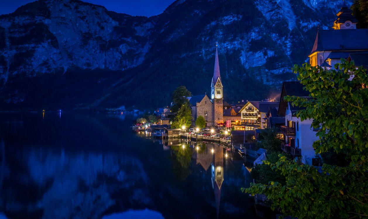 Фото бесплатно Гальштат, Австрия, Халльштатт - на рабочий стол