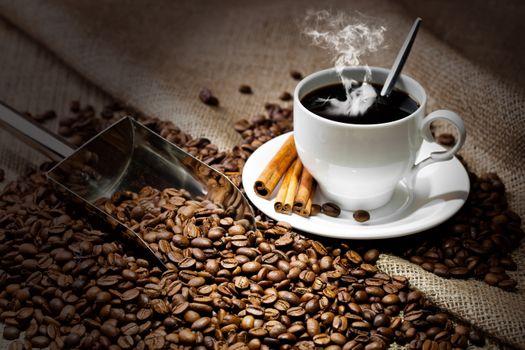 Очень крепкий кофе