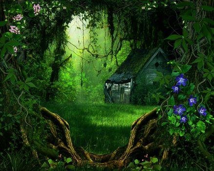 Фото бесплатно искусство, дом, цифровой