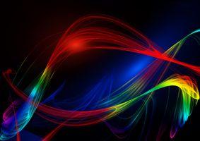Бесплатные фото абстракция,хаотичные линии,волны,текстура,свечение,разноцветные огни,иллюминация