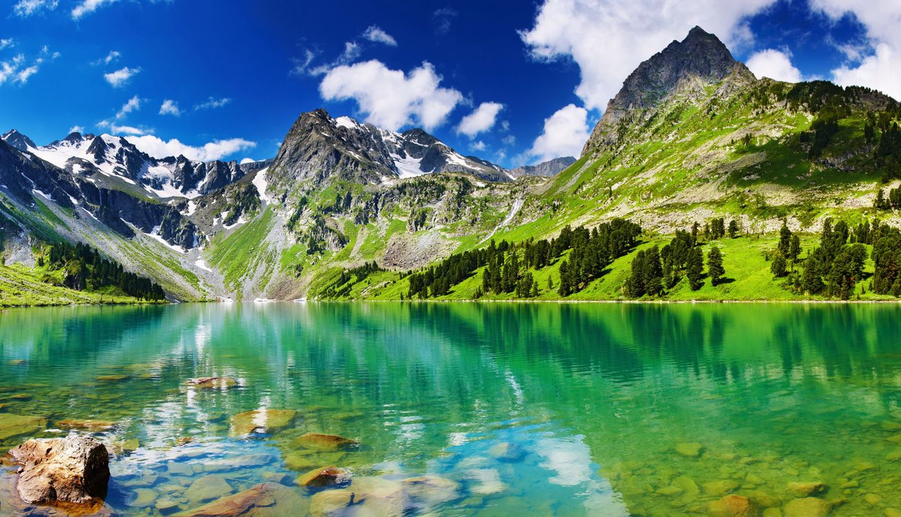 Фото красота синий облака - бесплатные картинки на Fonwall