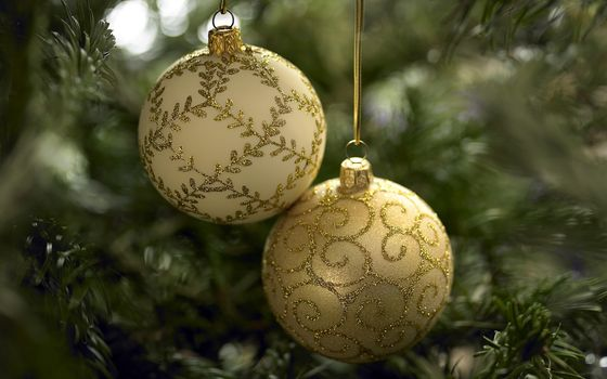Фото бесплатно Новый год, Рождество, елочные украшения