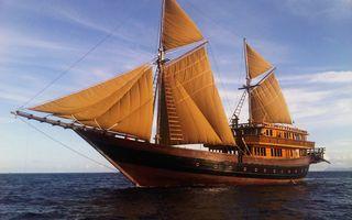 Фото бесплатно лодка, лодки, океан