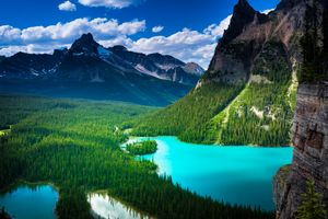 Фото бесплатно Lake O Hara, Yoho National park, BC