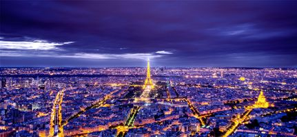 Заставки иллюминация, панорама, город