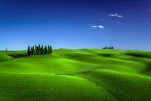 Заставки Tuscany, Италия, трава