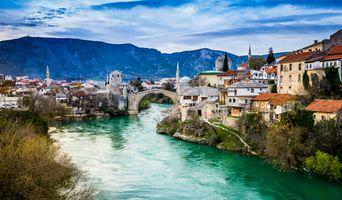Фото бесплатно Босния и Герцеговина, город, городской пейзаж