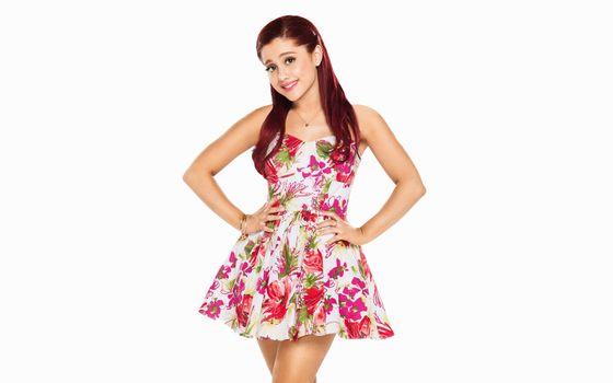 Photo free celebrities, Ariana Grande, dress