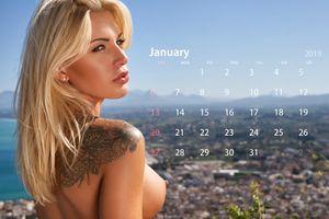 Фото бесплатно Бригитта, блондинка, на улице