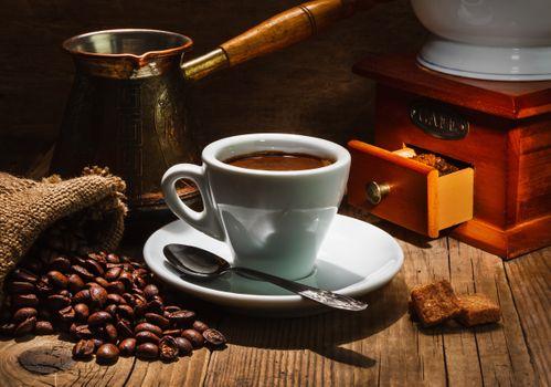Кофе, сваренное в турке