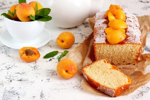 Photo free baking, cake, sugar powder