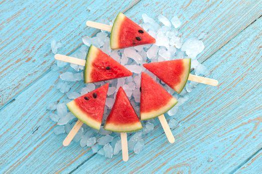 Фото бесплатно арбуз, мороженое, лед